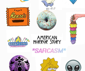 alien, cool, and donut image