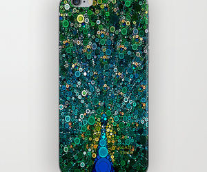 art, iphone6, and peacock image