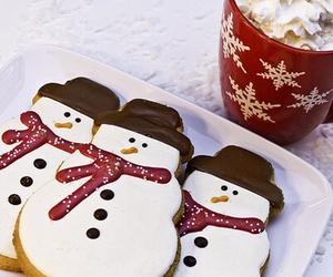 christmas, snowman, and Cookies image