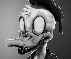 zombie, donald, and disney image