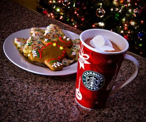 christmas, starbucks, and Cookies image