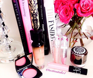 blush, books, and chanel image