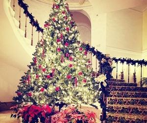 christmas, tree, and christmas tree image