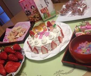 cake, japanese, and f image