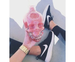 nike, pink, and style image