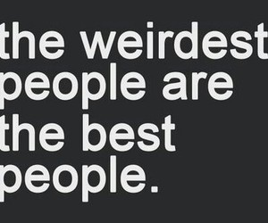 quotes, weird, and people image