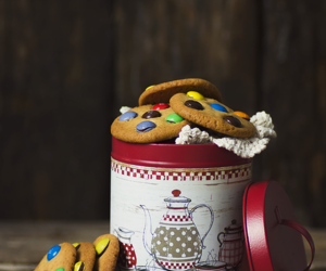 christmas, delicious, and muffins image