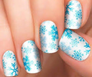 nails, lady, and cute image