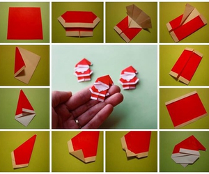 christmas, diy, and origami image