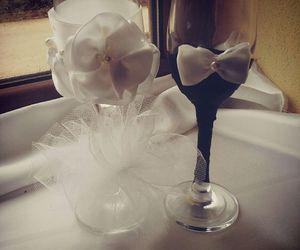 bride, bridesmaid, and white image