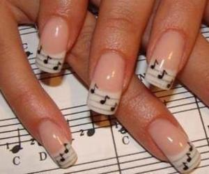 nails, nice, and cute image