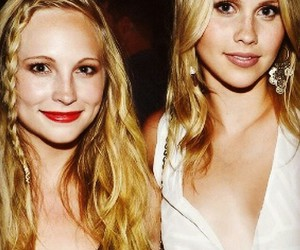 claire holt and candice accola image