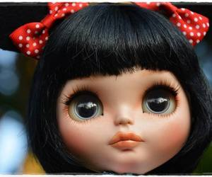 blythe, doll, and girl image