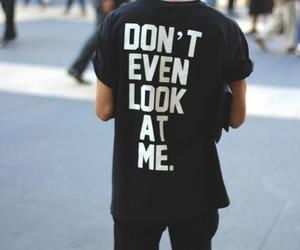 boy, black, and shirt image