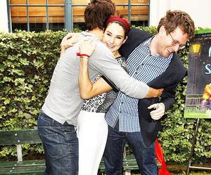john green, ansel elgort, and Shailene Woodley image