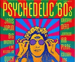 psychedelic, 60s, and music image