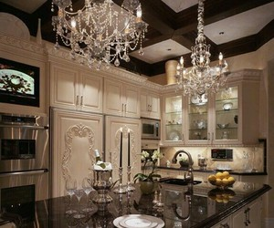 chic and kitchen image