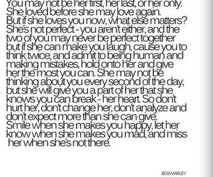 love, quote, and bob marley image