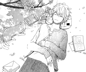 boy, manga, and manga cap image