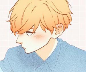 anime, daytime shooting star, and boy image