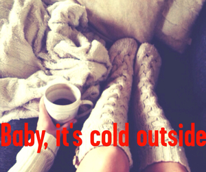 baby, cold, and fashion image