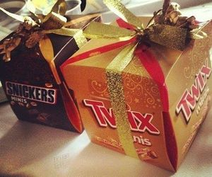 Twix, snickers, and chocolate image