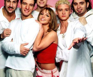 britney spears and nsync image