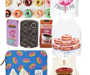 donuts, icing, and outfit image