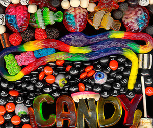 candy, Halloween, and scary image