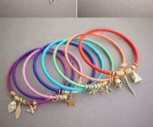 bracelets, colors, and gold image