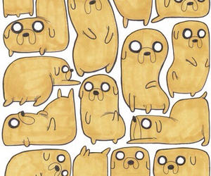 JAKe, adventure time, and wallpaper image