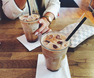 coffee, drink, and friends image