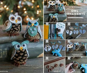 diy, owl, and christmas image