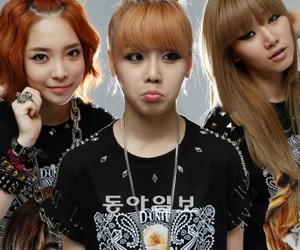 girl group, yg, and d-unit image