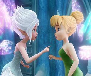 tinkerbell, disney, and periwinkle image