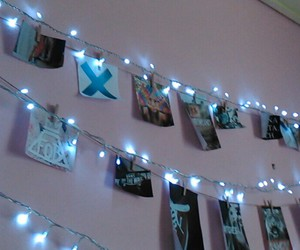 blue, lights, and photos image