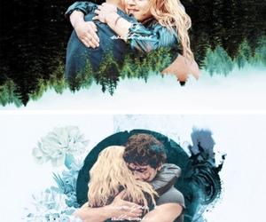 bellamy, couple, and hug image