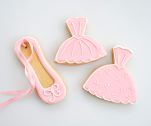 ballet, food, and pink image