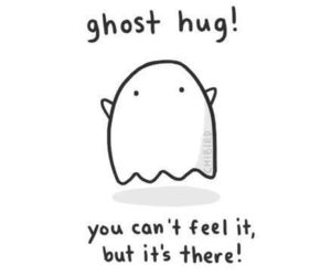 hug and ghost image