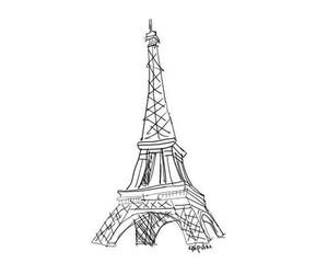 paris, eiffel tower, and bird image