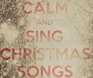 *-*, christmas, and keep calm image