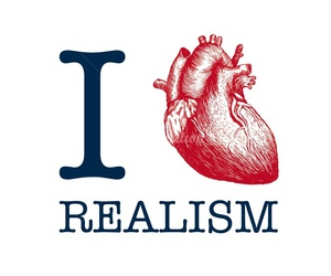 realism, love, and heart image