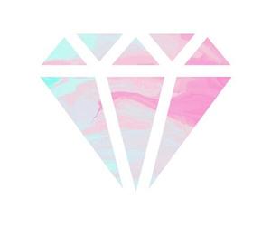 diamond, art, and overlays image