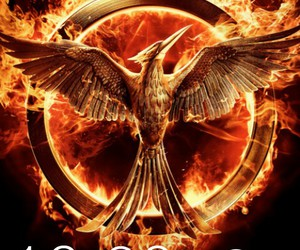 the hunger games and mockingjay part 1 image