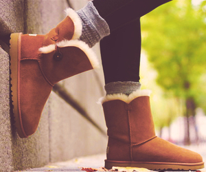 boots, uggs, and winter image