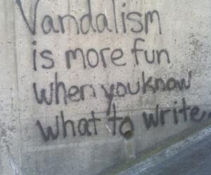 vandalism, grunge, and fun image