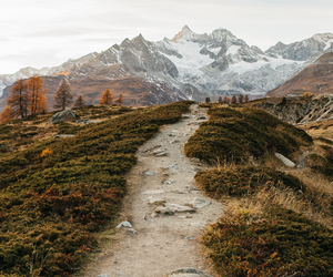 nature, mountains, and path image