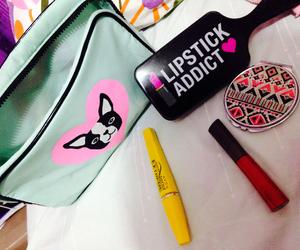 colorfull, pink, and makeupbag image