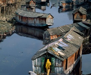 boats, Houses, and india image