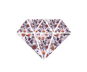 diamond and flowers image